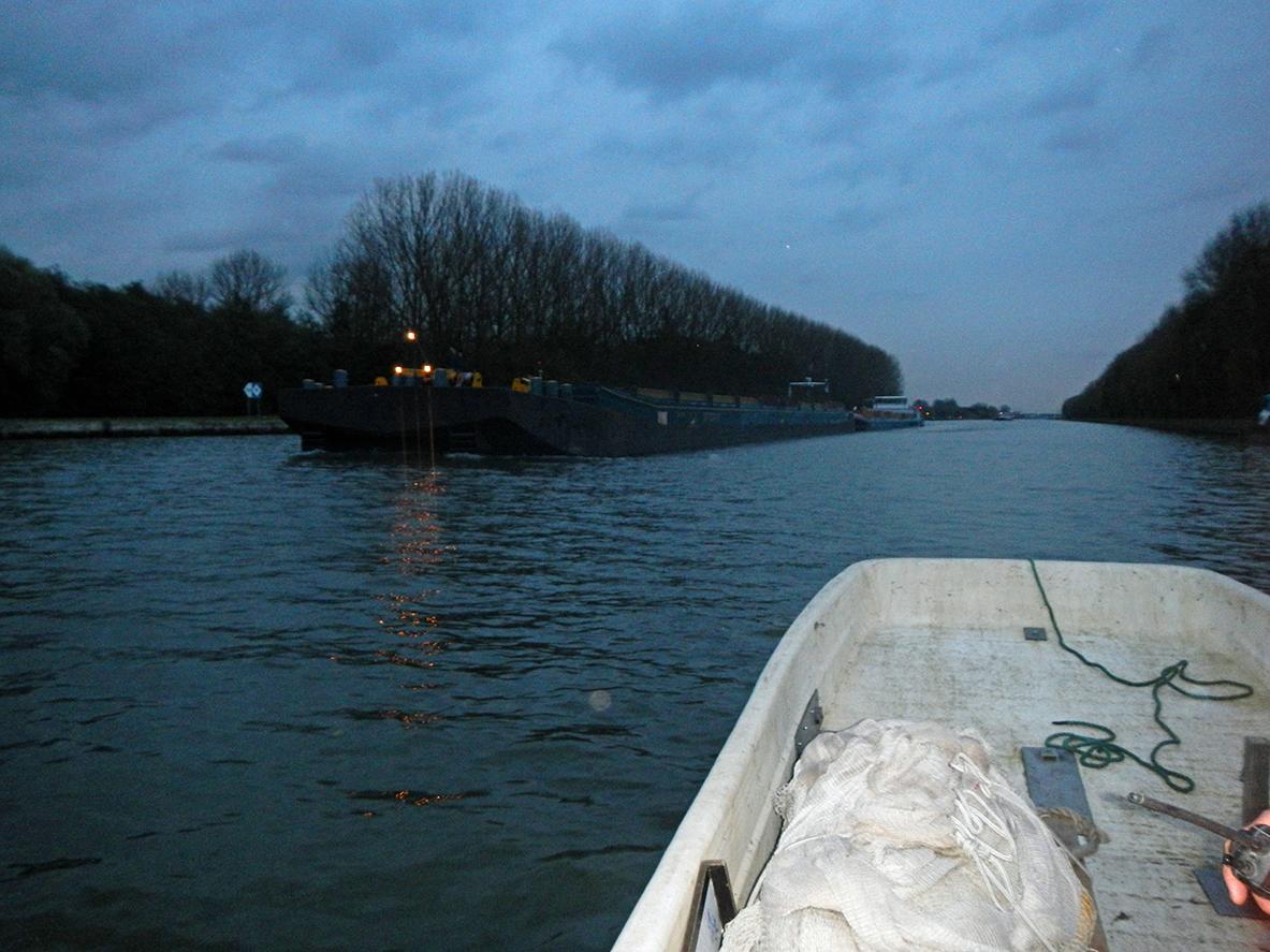 Mooi uitzicht onderweg naar de locatie waar wij het visserijkundig onderzoek gaan uitvoeren.
