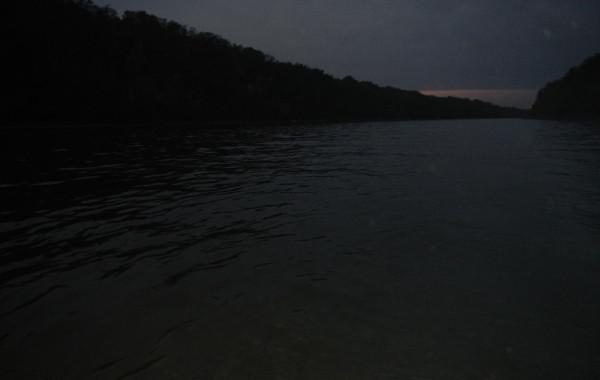Vissen in het donker!
