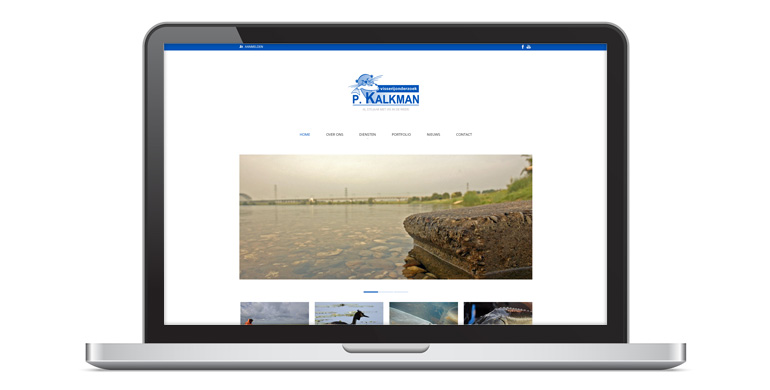 Website Visserijonderzoek P. Kalkman